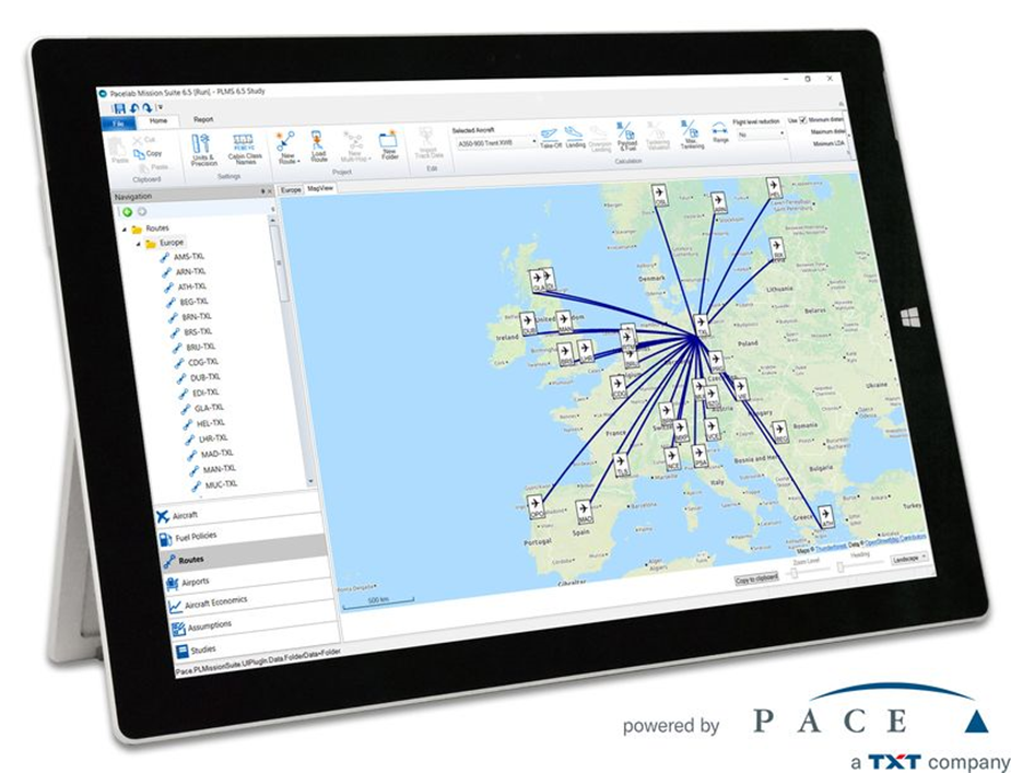 PACE TXT - aviation industry data challenges