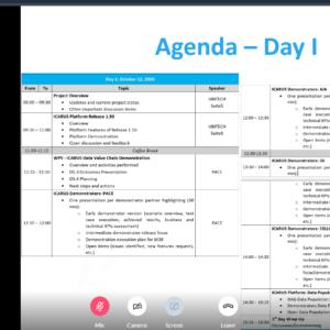 icarus meeting october 2020